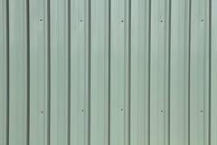 Siding. Corrugated metal siding texture Stock Photo