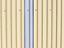 The siding background. Stock Photography