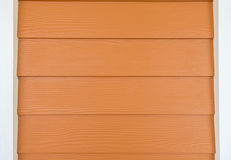 Siding brown color. Royalty Free Stock Photo