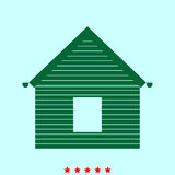 Siding front  set  it is color icon . Royalty Free Stock Images