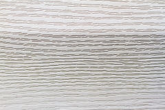 Siding leaf texture. Siding sheet texture of small furrows closeup Royalty Free Stock Photo
