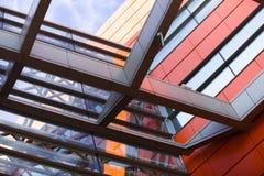 Siding, metal plates, double-glazed windows. Stock Photography