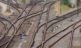 Sidings For Decision Stock Images