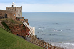 Sidmouth, Devon. A Scenic view from Sidmouth, Devon Royalty Free Stock Image
