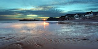 Sidmouth in Devon Stock Photo