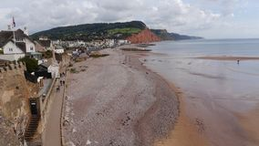 Sidmouth in Devon England royalty free stock photography