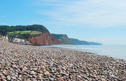 Sidmouth in Devon. Stock Photo
