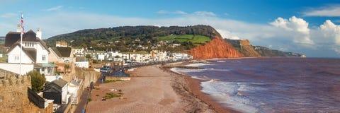 Sidmouth-Strand Devon England Lizenzfreie Stockbilder