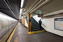 Siódmy alei stacja metru - Brooklyn, Nowy Jork Obrazy Royalty Free