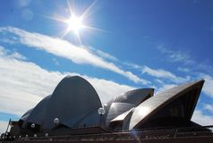 Sidney歌剧院 库存图片
