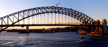 Sidney Bridge Royalty Free Stock Photography