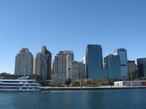 Sidney cityscape stock images