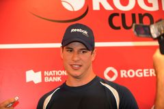 Sidney Crosby NHL star at Rogers Cup 2010 (10) Royalty Free Stock Images