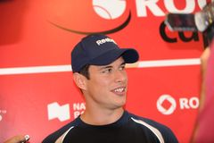 Sidney Crosby NHL star at Rogers Cup 2010 (16) Stock Photo