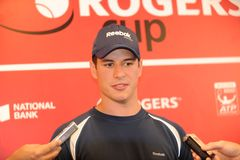 Sidney Crosby NHL star at Rogers Cup 2010 (6) Stock Photos