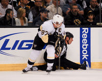 Sidney Crosby Pittsburgh Penguins Foto de archivo