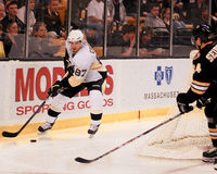 Sidney Crosby Pittsburgh Penguins Images libres de droits
