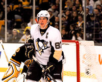 Sidney Crosby Pittsburgh Penguins royalty-vrije stock foto