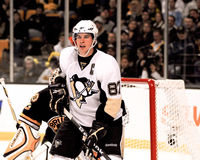 Sidney Crosby Pittsburgh Penguins stock afbeelding