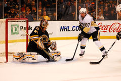 Sidney Crosby -- Tuukka Rask Stock Photos