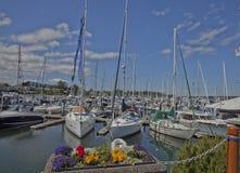 Sidney Harbor på den Vancouver ön, British Columbia Arkivbilder