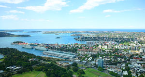Sidney harbour. Royalty Free Stock Photography