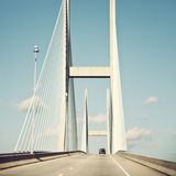 Sidney Lanier Bridge Stock Image