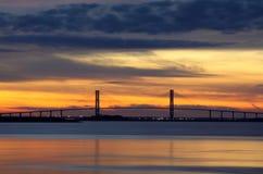 Sidney Lanier Bridge Stock Afbeeldingen