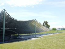 The Sidney Myer music bowl in a park Royalty Free Stock Photo