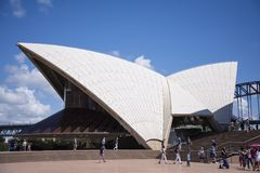 Sidney opera house Royalty Free Stock Images