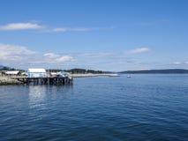 Sidney schronienie i rybi rynek na jetty Obraz Royalty Free