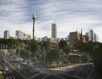 Sidney Skyline Royalty-vrije Stock Afbeeldingen