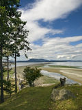 Sidney Spit. Island in British Columbia, Canada Royalty Free Stock Photo