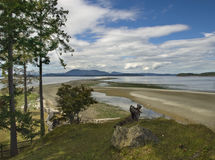 Sidney Spit. Island in British Columbia, Canada Royalty Free Stock Photography