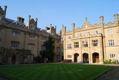 Sidney Sussex College Cambridge University Arkivfoto