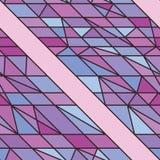 Sidolinje purpurfärgad sömlös modell Arkivbild