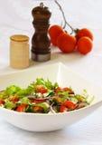 Sidomaträtt med grönsaken Arkivbilder