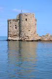 Sidon Crusader Sea Castle (Lebanon) Royalty Free Stock Photo