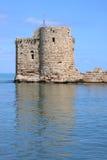 Sidon Crusader Sea Castle (Lebanon) Royalty Free Stock Photo