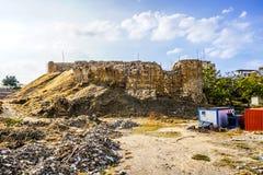 Sidon saint louis krzyżowów kasztel 01 zdjęcie stock