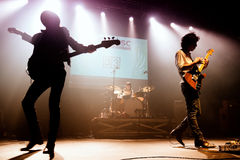 Sidonie (band) performs at Razzmatazz clubs Stock Photography