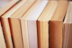 Sidor av böcker Royaltyfria Foton