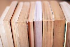 Sidor av böcker Arkivbild
