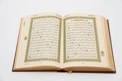 Sidor av den heliga boken av quranen Royaltyfria Foton