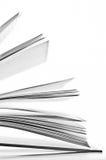 Sidor av en boka arkivfoton