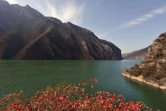 15 sidor Förenta staterna pittoreska Three Gorges Royaltyfria Bilder