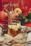 Sidra de la Navidad Imagen de archivo libre de regalías