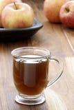 Sidra de manzana fresca caliente Fotografía de archivo