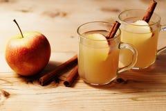 Sidra de manzana hecha en casa imagen de archivo libre de regalías