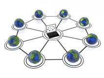 Sieć Zdjęcia Stock